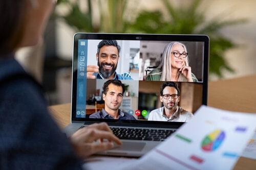 online konferenz digitale versammlung